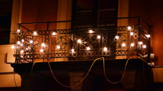 Latest Top 9 Small Balcony Decor Ideas- Balcony Lights