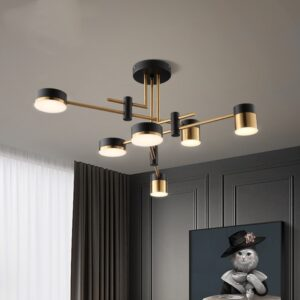 Artpad LED Ceiling Mount Chandelier 1