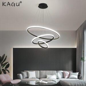 Modern Pendant LED ring Chandelier 1