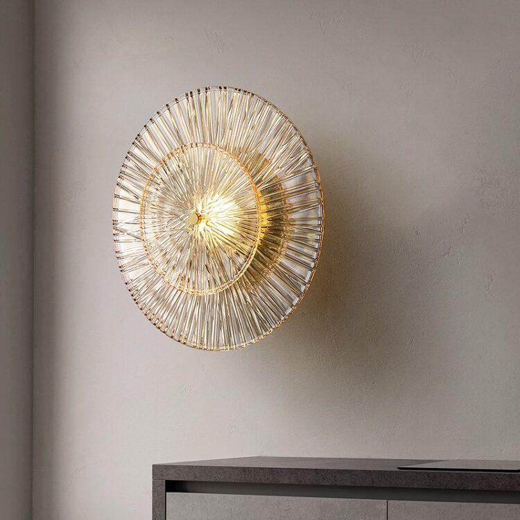All copper Postmodern Wall lamp wall lamp  1