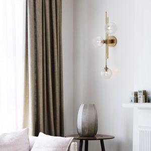 Nordic glass ball wall lamp Minimalistic Design 1
