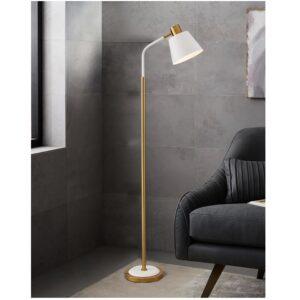 Metal Floor Lamp with Heavy Metal Base 1