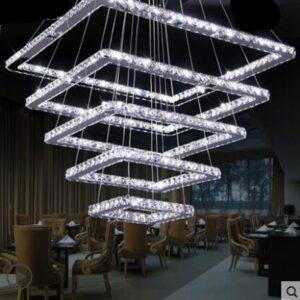 Duplex floor living room chandelier 1