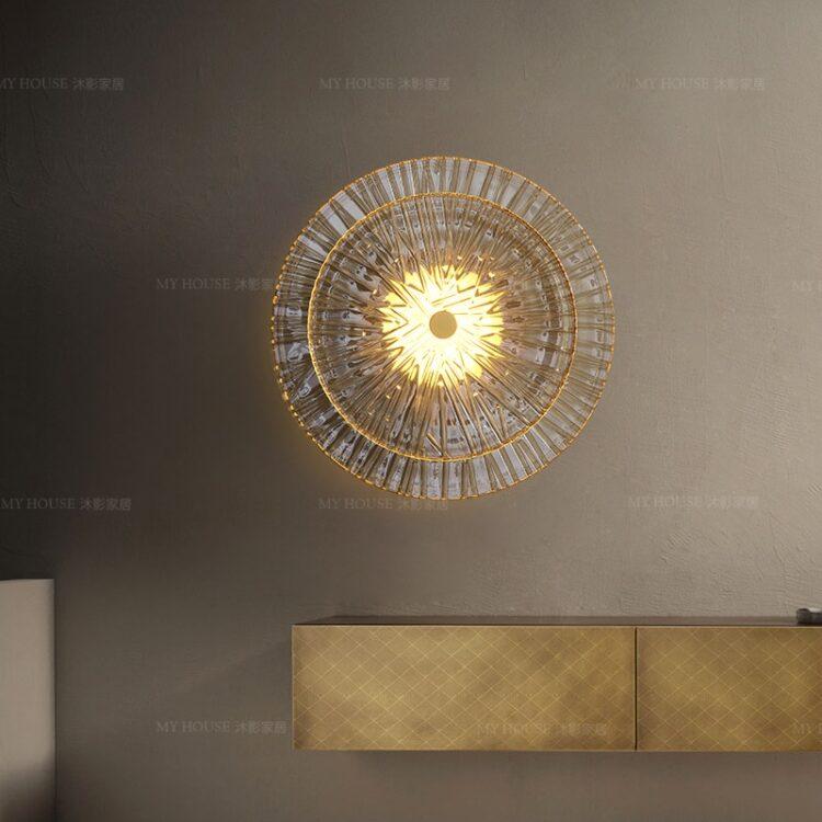 All copper Postmodern Wall lamp wall lamp  2