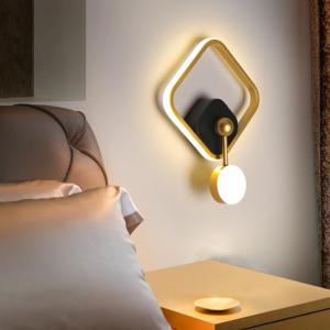 Gold LED Wall Light