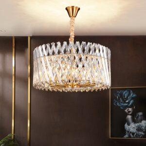 LED Simple Luxury Crystal Chandelier 1