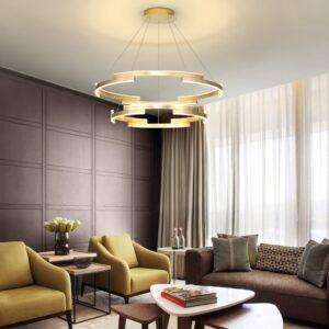 Modern Circle Rings Lamp fixtures home lamp 1