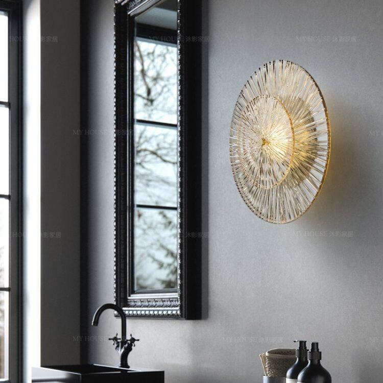 All copper Postmodern Wall lamp wall lamp  3