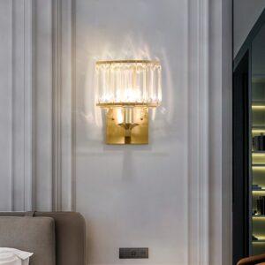 Crystal Wall Light LED Indoor Gold Wall Lamp  1