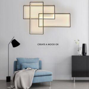 Modern LED Flush Mount Ceiling Light /Wall Light Fixture 5
