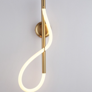 Modern Led Curved Nordic Wall Lamp