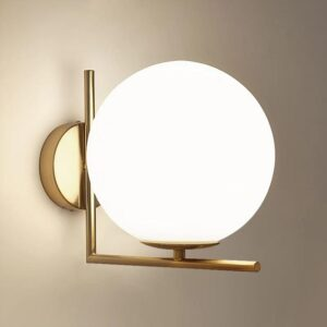 E27 Modern Simple Style Wall Lamp Anti-Rust Durable Wall Sconce Lighting Light Soft For Living Room Dining Room Bedroom 1