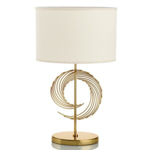 Modern Simple LED Table Lamp Lighting Bedroom Bedside Lamp Metal Gold Fashion Desk Light E27 Lamp Art Home Deocration Desk Light 1