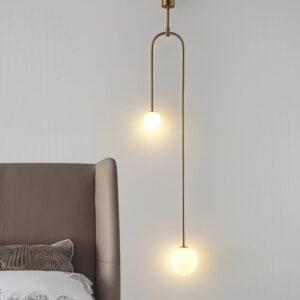 Modern Glass Ball Pendant Lighting Nordic Bedroom Pendant Lights/Hanging Light Art Deco Pendant Lamp Suspension 1