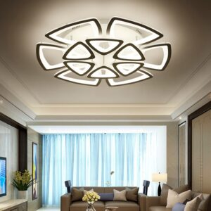 Modern Ceiling Lights Fixtures With APP Dimmable LED 3